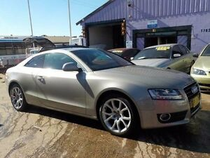 2008 Audi A5 8T MY09 Quattro Beige 6 Speed Sports Automatic Coupe North St Marys Penrith Area Preview