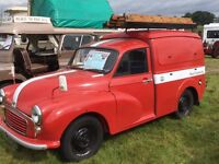 1971 Morris Minor Postal Engineering 6 cwt van classic car