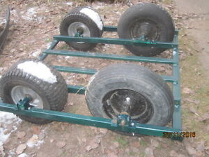 Snowmobile dolly