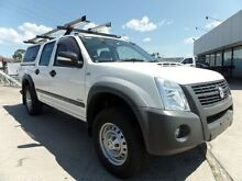2007 Holden Rodeo RA MY07 LX (4x4) White 4 Speed Automatic Fairfield East Fairfield Area Preview