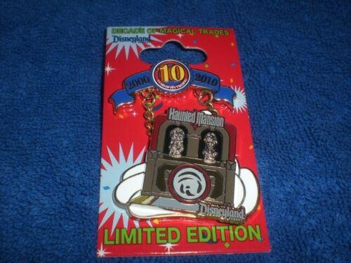 Disney 2010 DLR Pin Trading 10th Anniversary Decade HAUNTED MANSION  LE  Pin