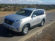 2016 Toyota Landcruiser Prado GDJ150R GXL Silver 6 Speed Sports Automatic Wagon Lonsdale Morphett Vale Area Preview