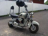 petite moto a gas 50cc