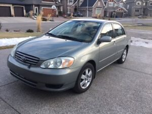 2003 Toyota Corolla LE Sedan - Good Condition, Single Owner
