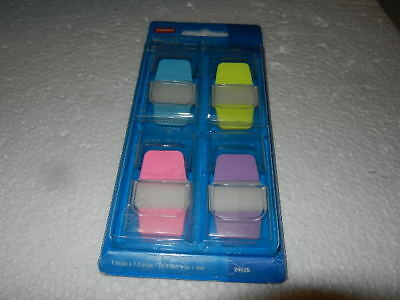 New Staples Durable Repositionable Sticky Note Tabs 40 Pack Staple 24536