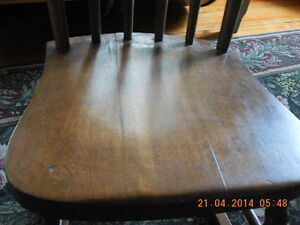 Antique Pressback Rocker Childs Kingston Kingston Area image 4
