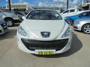 2010 Peugeot 308 T7 CC White 6 Speed Manual Convertible Holroyd Parramatta Area Preview