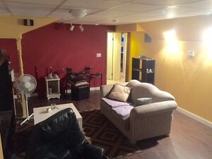 Beautiful Grovenor 2 B/R Basement suite for rent Sept 1