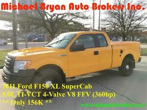 2011 FORD F150 XL SUPERCAB **4X4** ONLY 156K *GREAT PRICE*