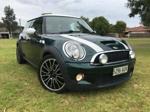 2007 Mini Hatch R56 Cooper S Green 6 Speed Manual Hatchback Somerton Park Holdfast Bay Preview