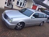 Mercedes E280 Estate (W210, 2000) Silver