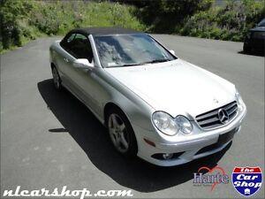 2007 Mercedes CLK550 Convertible V8 w/ WARRANTY - nlcarshop.com
