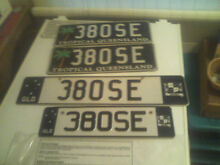 """Mercedes Benz - """"380SE"""" Personalised Number Plates (Queensland) Kelso Townsville Surrounds Preview"""