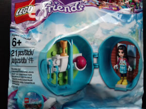 Lego Friends Emma's Ski Pod, Friends Puppy Sets brand new