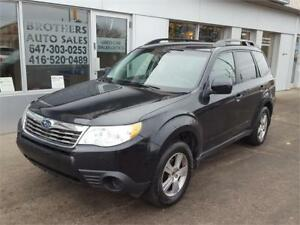 2009 SUBARU FORESTER X PREMIUM  | HEATED SEATS | AWD | AUTO