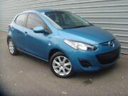2014 Mazda 2 DE10Y2 MY14 Neo Sport Blue 4 Speed Automatic Hatchback Morphett Vale Morphett Vale Area Preview