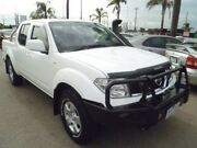2010 Nissan Navara D40 ST White 6 Speed Manual Utility Heatherton Kingston Area Preview