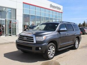 2011 Toyota Sequoia Limited, Leather, 3rd Row