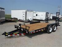 14K - 7 x 16 Equipment Trailer *NO PAYMENTS FOR 90 DAYS OAC*