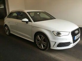 2014 Audi A3 1.6TDI Sportback S Line BUY FOR ONLY £242.66 A MONTH £0 DEPOSIT