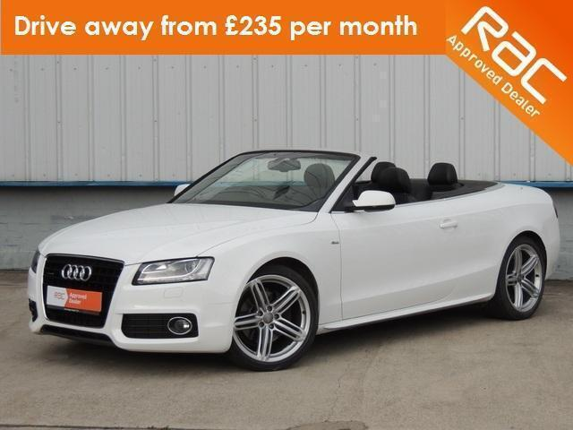 2009 audi a5 3 0 tdi quattro s line convertible convertible diesel in harlow essex gumtree. Black Bedroom Furniture Sets. Home Design Ideas