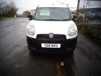 2011 Fiat Doblo White Panel Van 1.3 Diesel MOT'd for 1 year Great Condition £2995 no vat