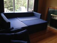 Ikea sectional sofa bed for sale