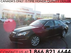 2012 Honda Accord EX-L | NAVIGATION | LEATHER | SUNROOF!!