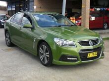 2014 Holden Commodore VF MY15 SV6 Hot House Green 6 Speed Automatic Sedan Canada Bay Canada Bay Area Preview