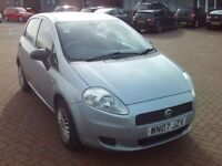 07 Fiat Grande Punto Hatchback 1.2 Active 5Dr NEW MOT part exchange to clear only £999