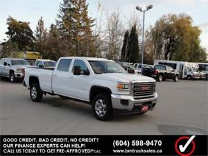 2016 GMC SIERRA 3500HD SLE CREW CAB LONG BOX 4X4 1 TON
