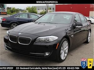 2011 BMW 535i XDrive XENON/TOIT OUVRANT/CUIR/MAGS/CLEAN CARPROOF