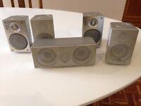 5 Surround Sound Speakers