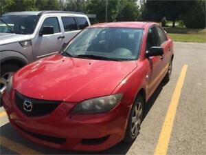Mazda 3 2007 $1250 air climatise fonctionnelle 514-793-0833