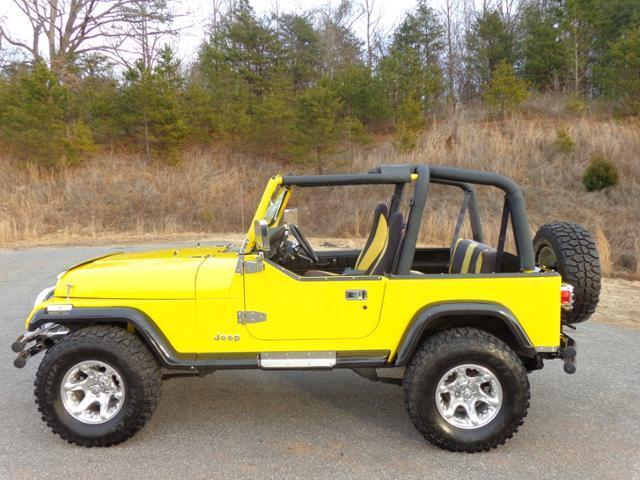 1987 jeep wrangler 4wd convertible used jeep wrangler for sale in newton north carolina. Black Bedroom Furniture Sets. Home Design Ideas