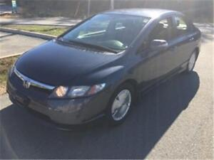 2006 Honda Civic Hybrid LOW KMS ,ALLOYS, AMAZING GAS MILAGE