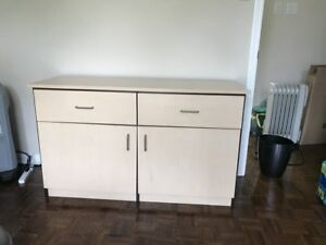 2 drawer 2 cupboard storage unit