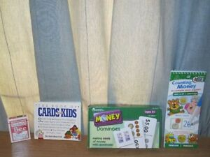Toys & Books for Kid's to Learn Money Count & Card Games