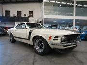 1970 Ford Mustang [Empty] Boss 302 Pepper White & Black Manual Coupe Burwood Burwood Area Preview
