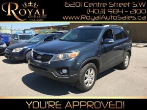 2011 Kia Sorento LX HEATED SEATS, BLUETOOTH, BACK UP SENSOR