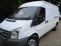Ford Transit 2.4TDCi 110 PS 350L 2008 LWB 1 OWNER NO VAT
