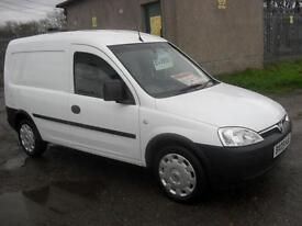 Vauxhall Combo 1.3CDTi 16v 2000 MOT 24/5/17 2009 ONLY 71500 Mls Clean Van