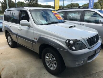 2006 Hyundai Terracan HP MY06 White 4 Speed Automatic Wagon East Rockingham Rockingham Area Preview