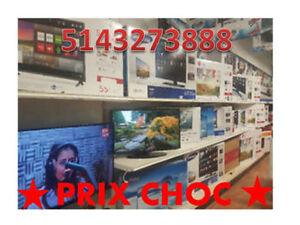 LUNDI NE RATEZ  PAS LIQUIDATION  5500 TV +++PRIX NÉGOCIABLE $$$$