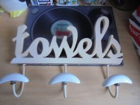 Large Towel Sign - Used, but in Good Condition.