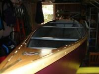 1954 Chestnut Cedar/ Canvas Freighter Canoe -  'Bay Model'