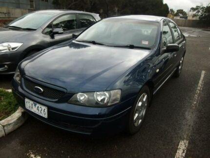 2004 Ford Falcon BA XT Blue 4 Speed Auto Seq Sportshift Sedan Maidstone Maribyrnong Area Preview