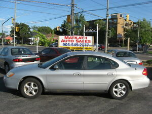 **2002 Ford Taurus SE** 4 door Auto, Air Conditioning