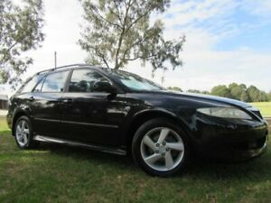 2004 Mazda 6 GY1031 MY04 Classic Black 4 Speed Automatic Wagon Dandenong Greater Dandenong Preview