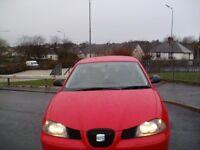 2004 Red Seat Ibiza SX 1.2 Hatchback